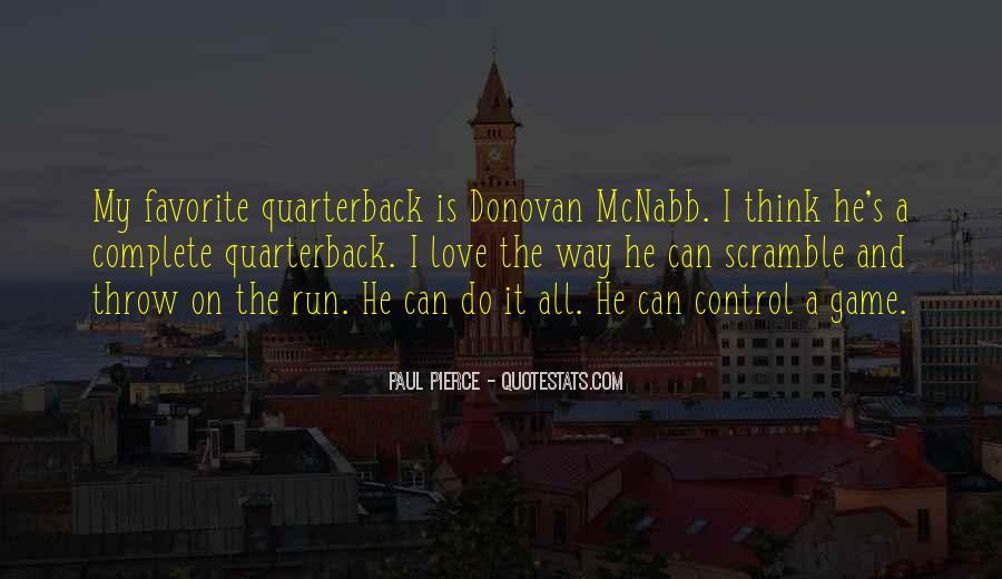 Quarterback Quotes #111142