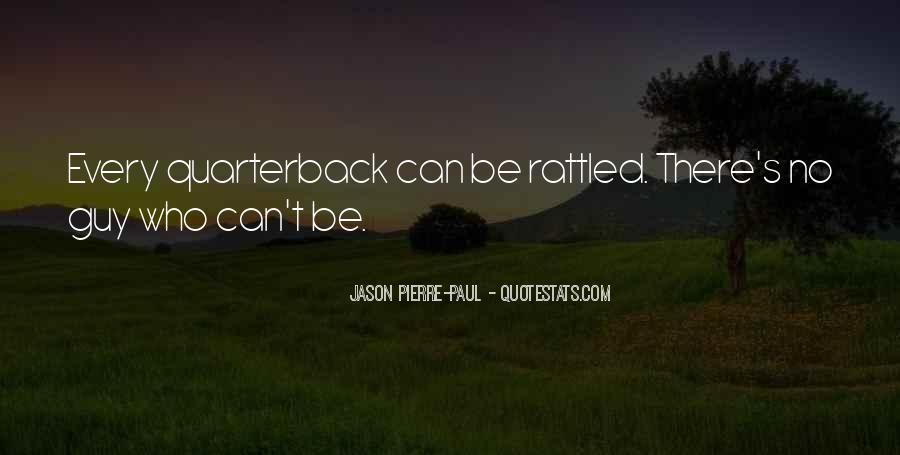 Quarterback Quotes #120767