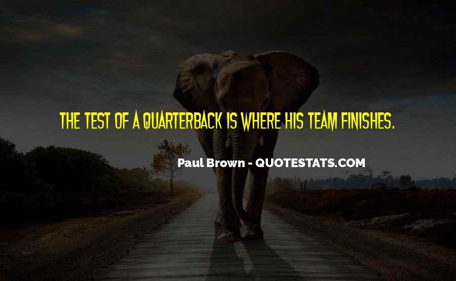 Quarterback Quotes #12408