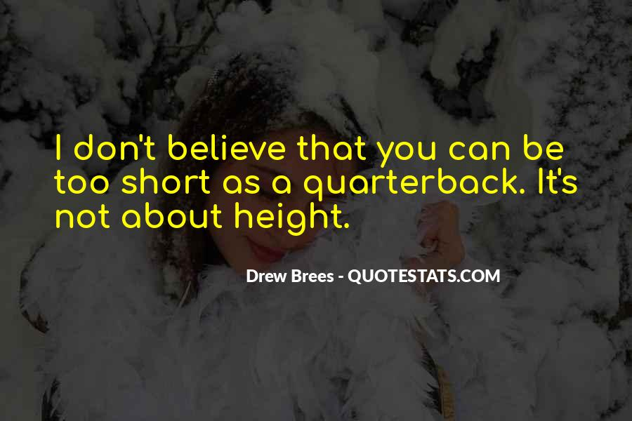 Quarterback Quotes #127168