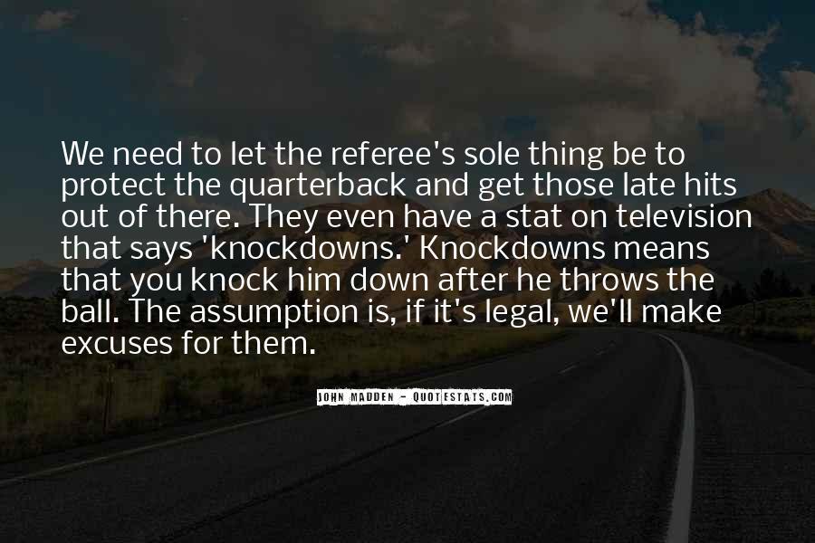 Quarterback Quotes #13543
