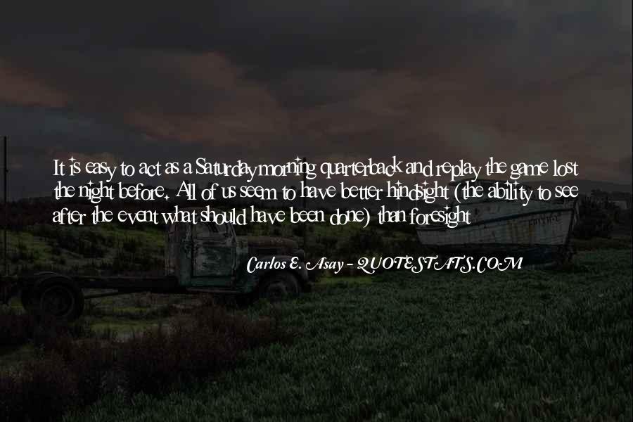 Quarterback Quotes #15335