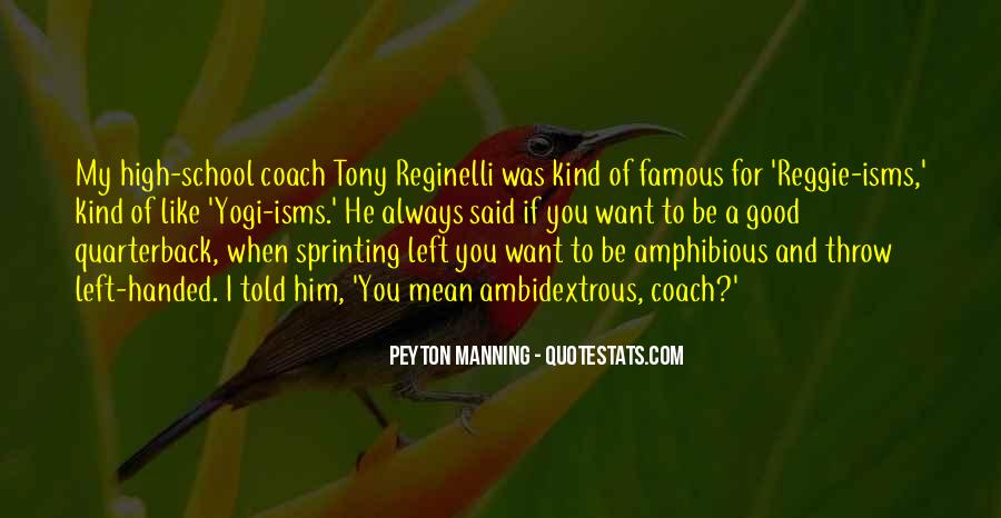 Quarterback Quotes #173522