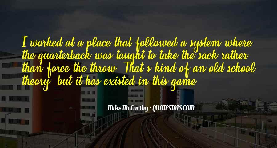 Quarterback Quotes #182278