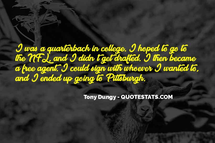 Quarterback Quotes #20890
