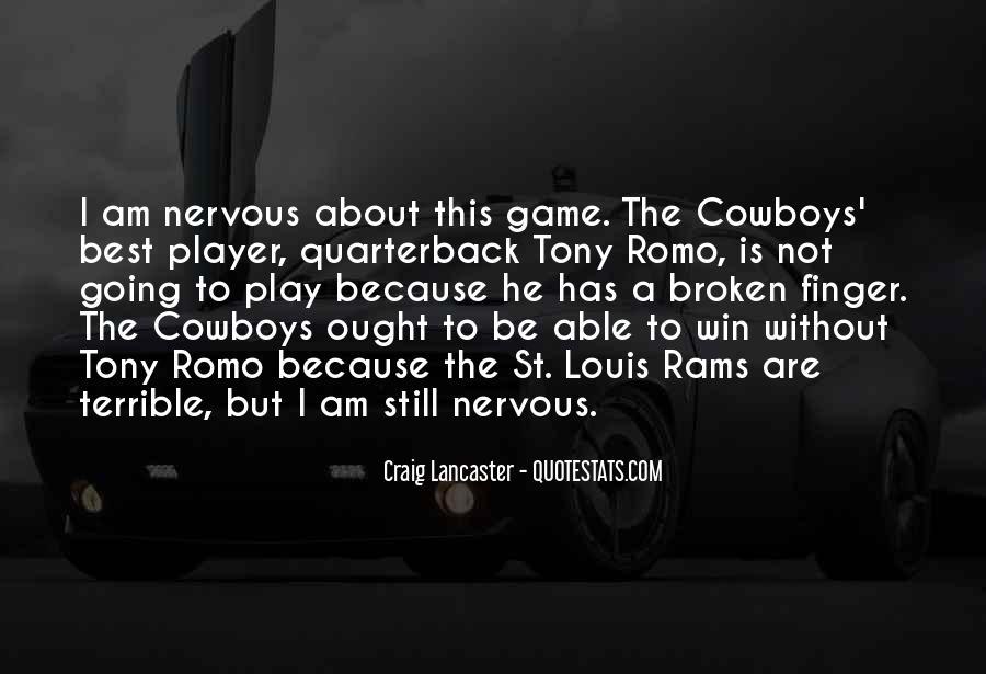 Quarterback Quotes #219673