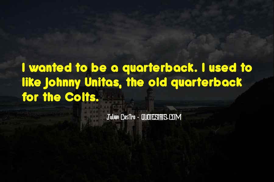 Quarterback Quotes #224522