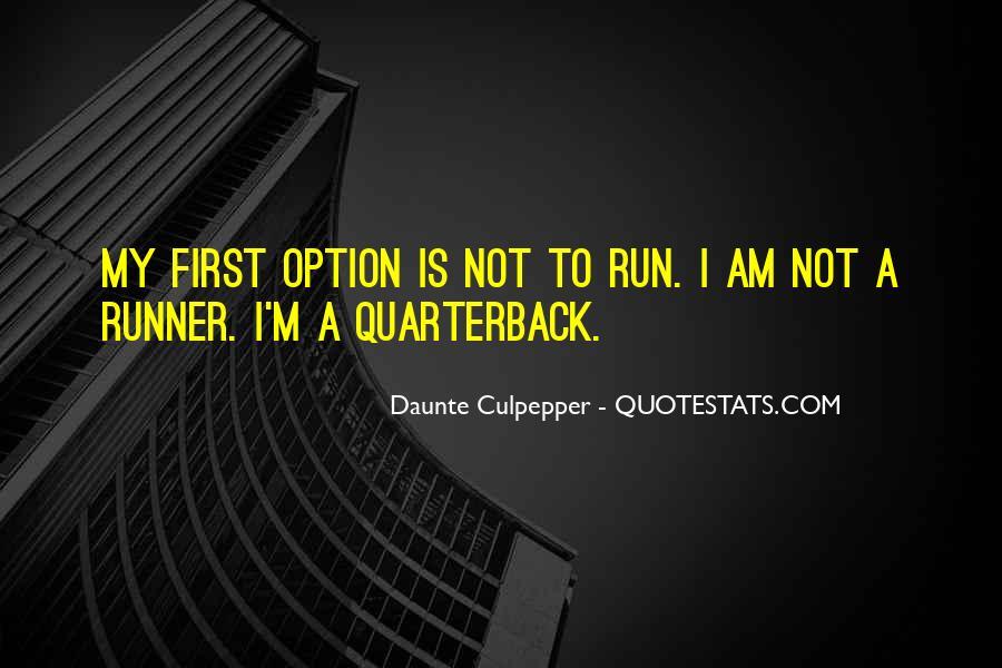 Quarterback Quotes #230068
