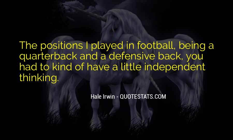 Quarterback Quotes #258190