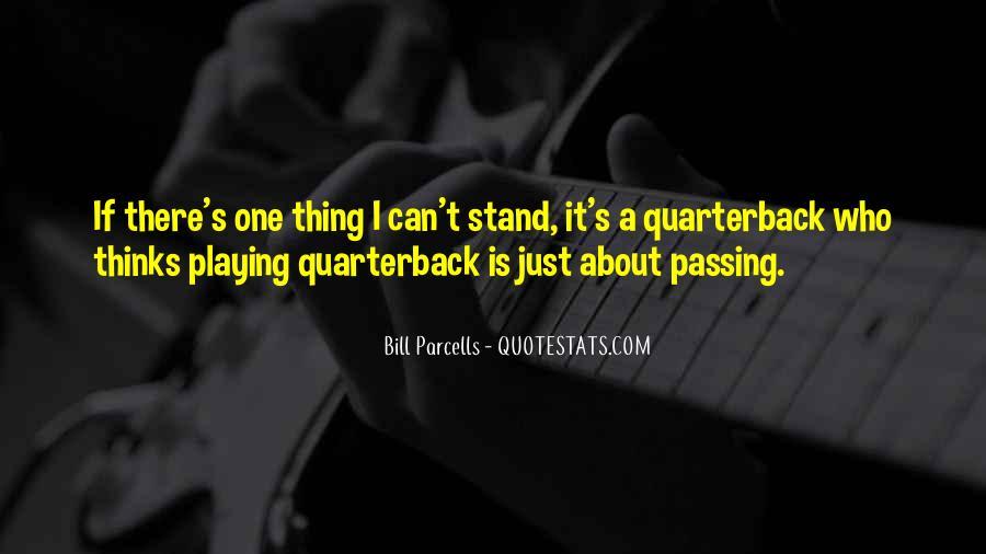 Quarterback Quotes #299786