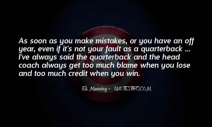 Quarterback Quotes #301681