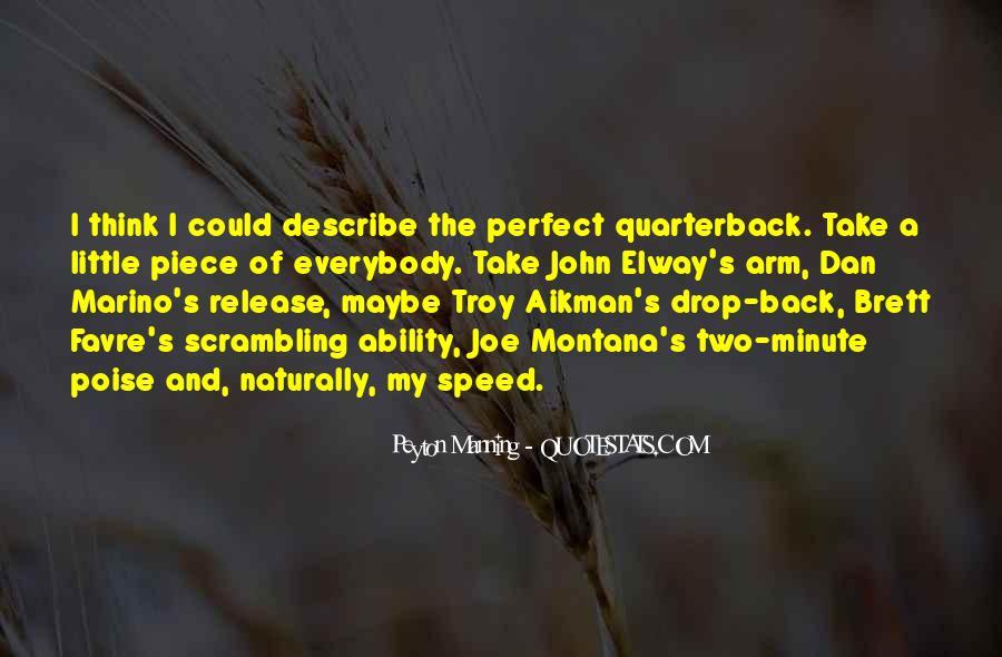 Quarterback Quotes #313724