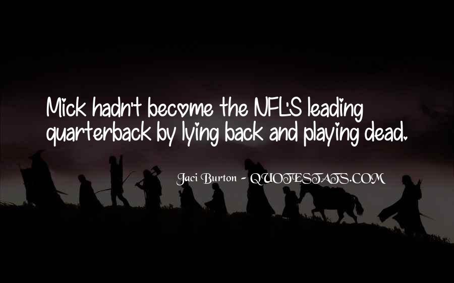Quarterback Quotes #315125
