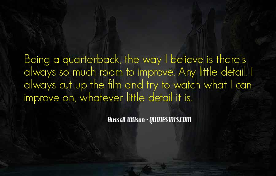 Quarterback Quotes #32612
