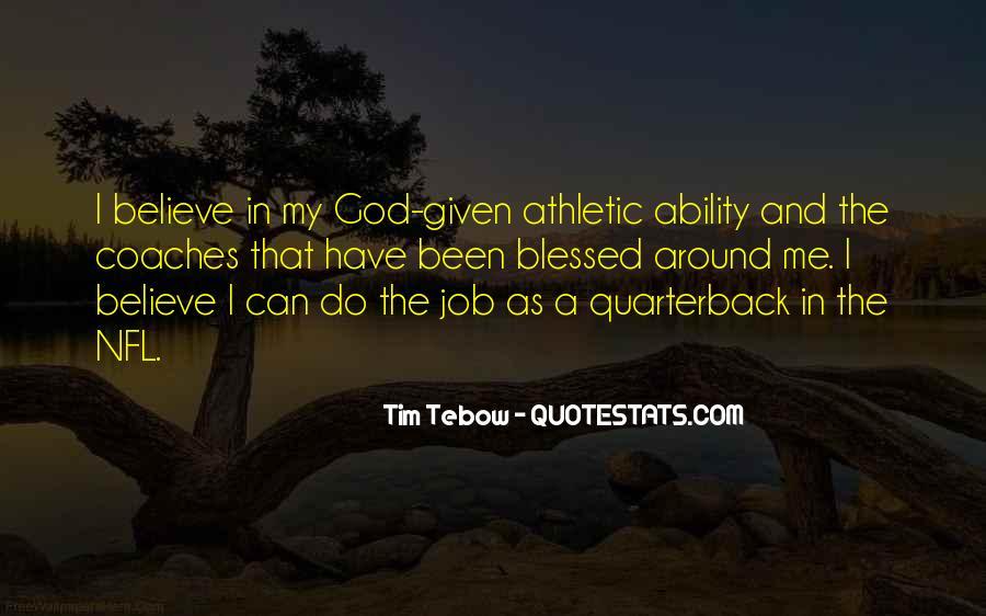Quarterback Quotes #326450