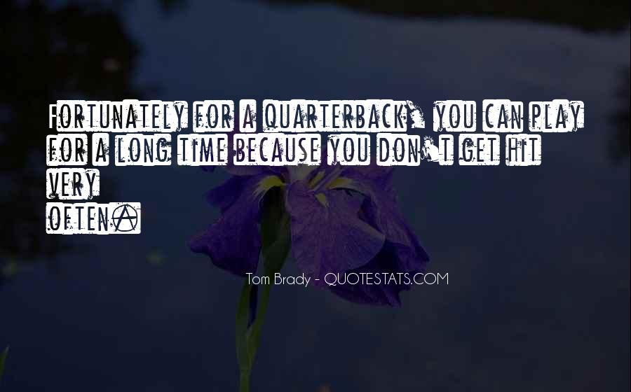 Quarterback Quotes #362523