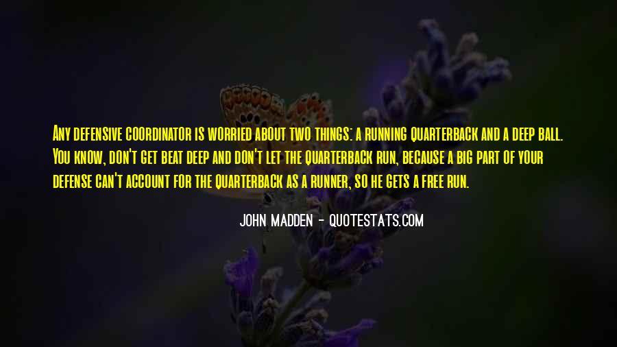 Quarterback Quotes #381950