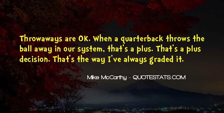 Quarterback Quotes #405670