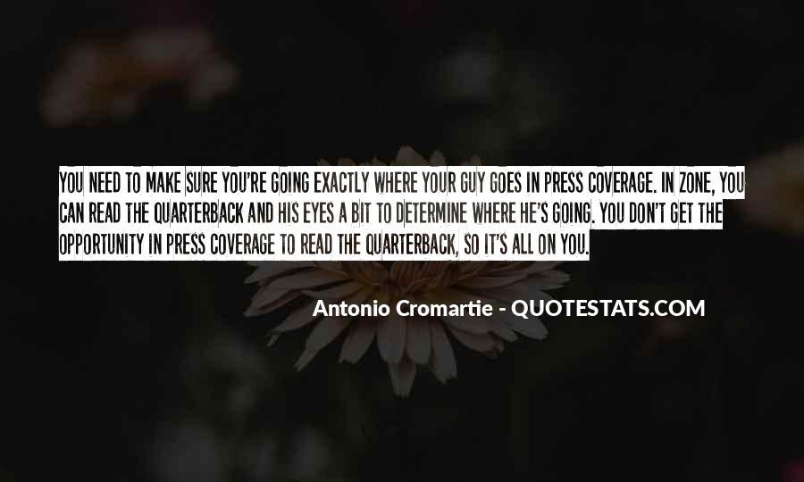 Quarterback Quotes #421599