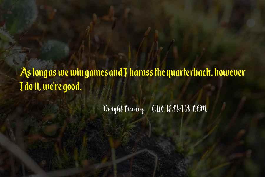 Quarterback Quotes #426040