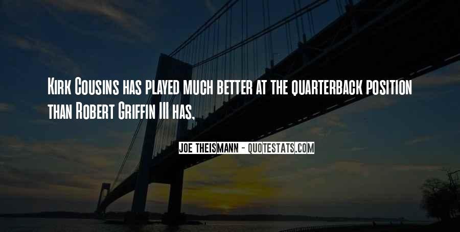 Quarterback Quotes #449761