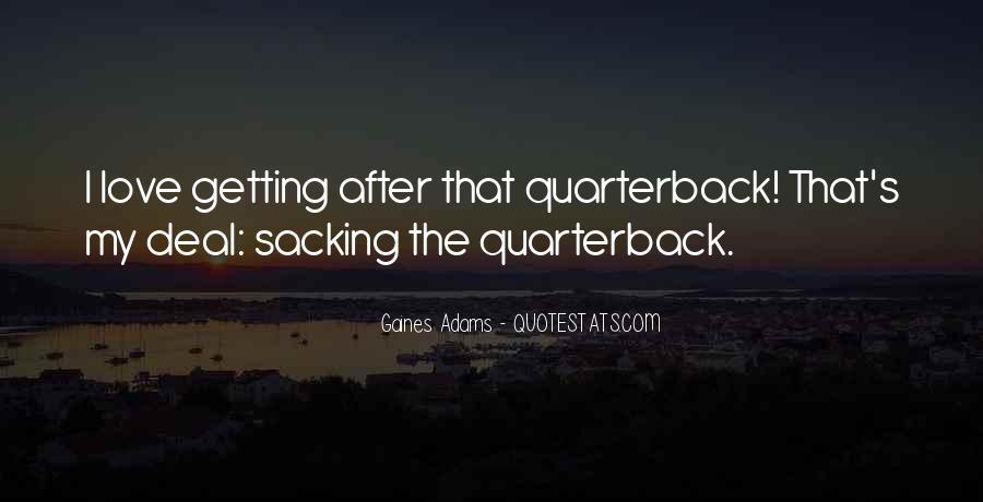 Quarterback Quotes #464211