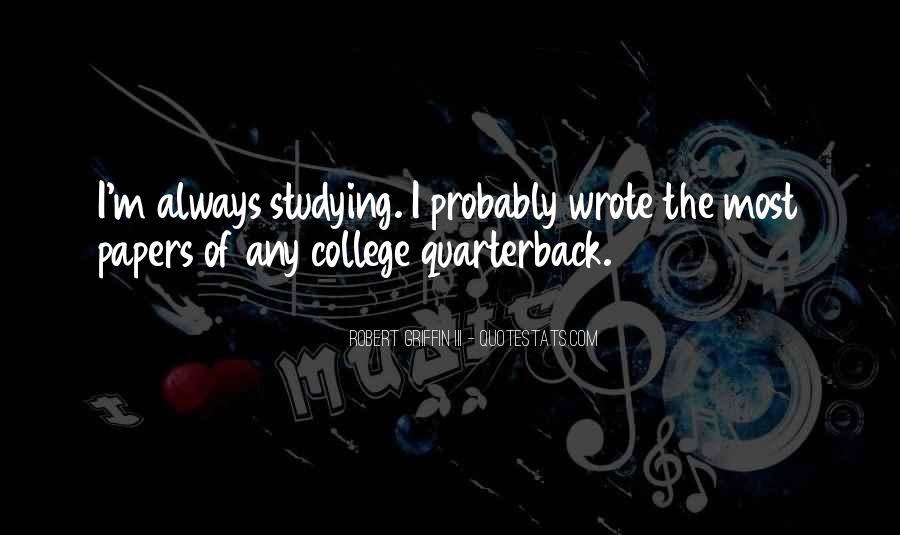 Quarterback Quotes #473567