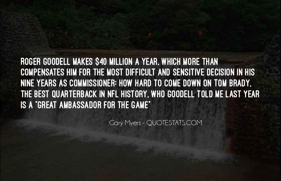 Quarterback Quotes #47823