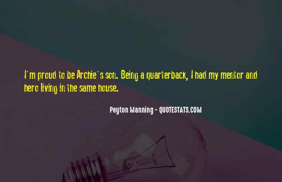 Quarterback Quotes #571028