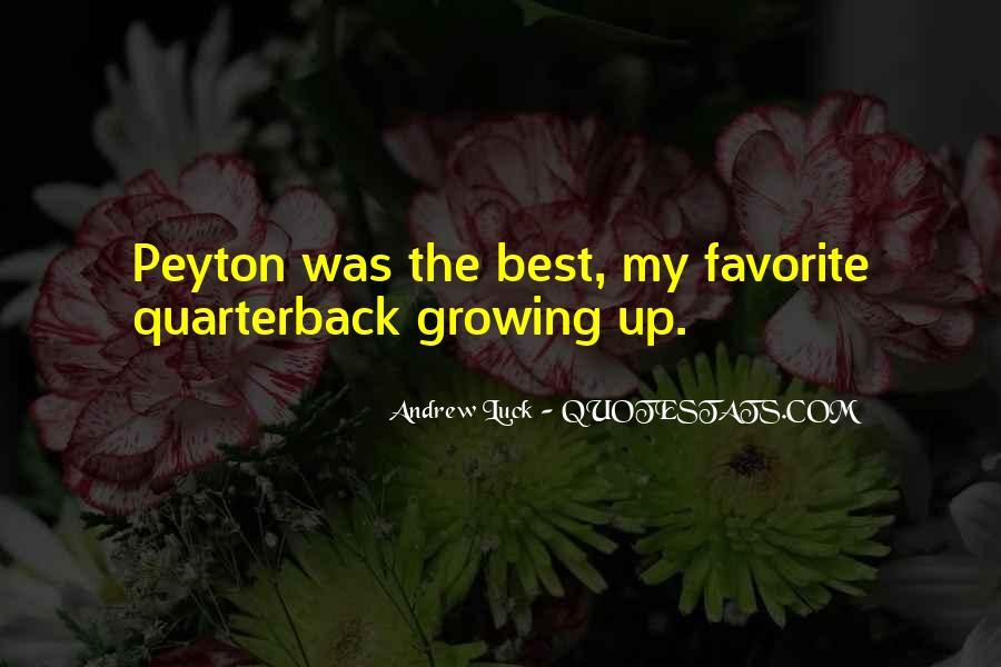 Quarterback Quotes #578956