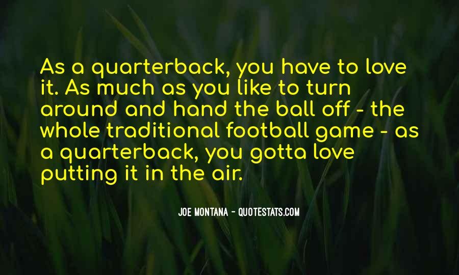 Quarterback Quotes #59614