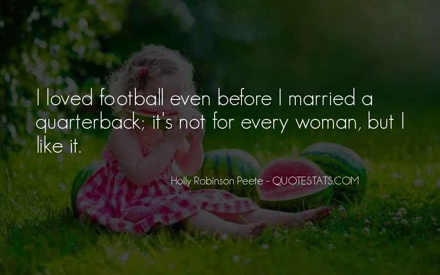 Quarterback Quotes #648181
