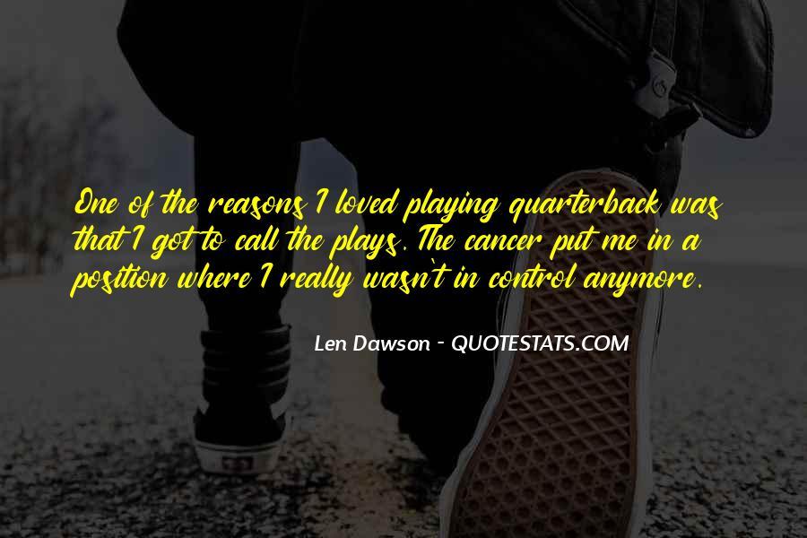 Quarterback Quotes #657148