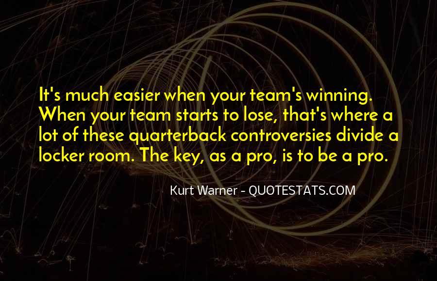 Quarterback Quotes #680926