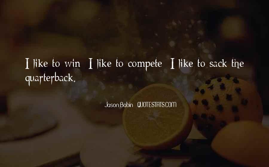 Quarterback Quotes #713389