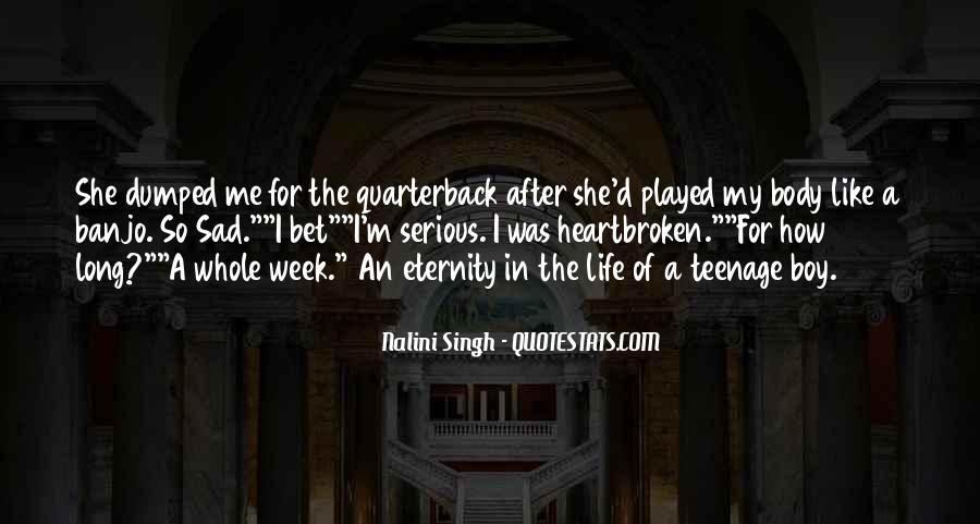 Quarterback Quotes #7317