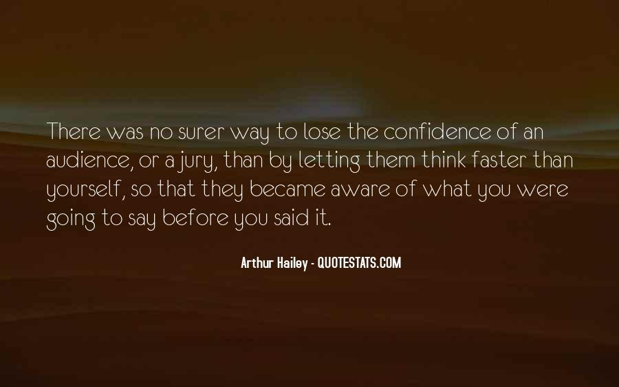 Quotes About Surer #473491