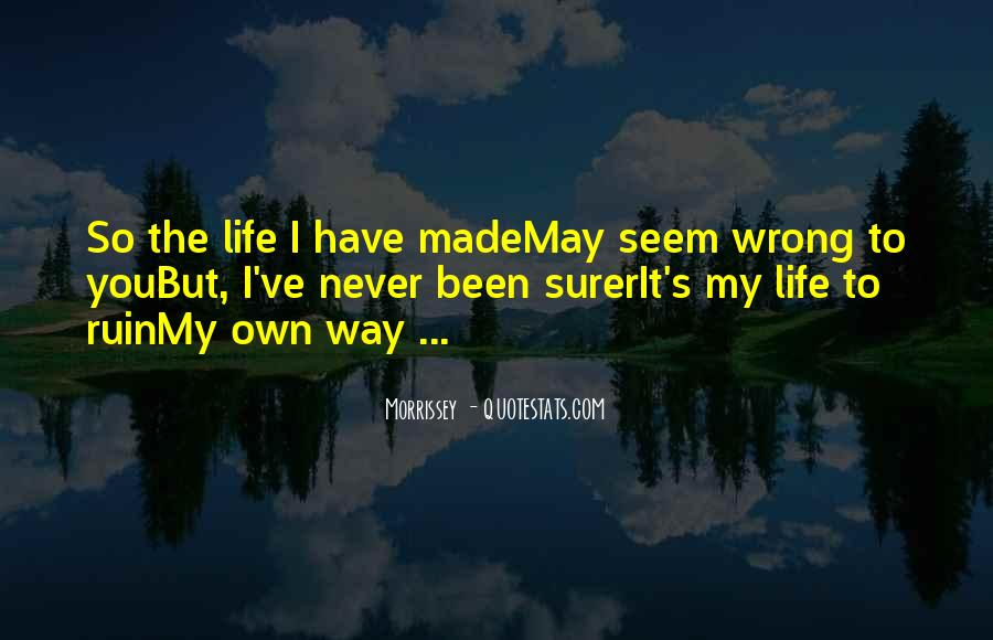 Quotes About Surer #753456