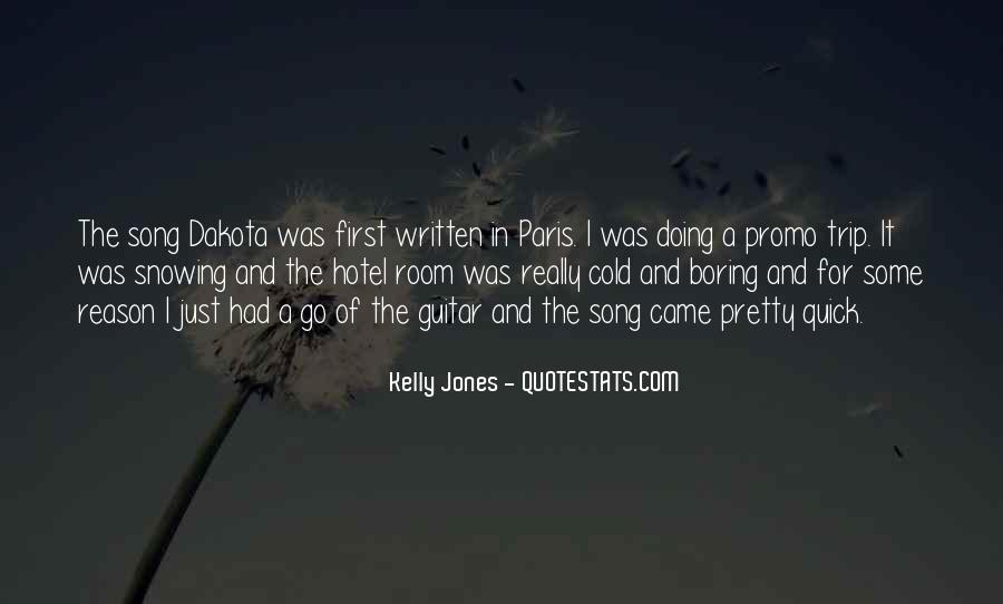 Quotes About Dakota #146193