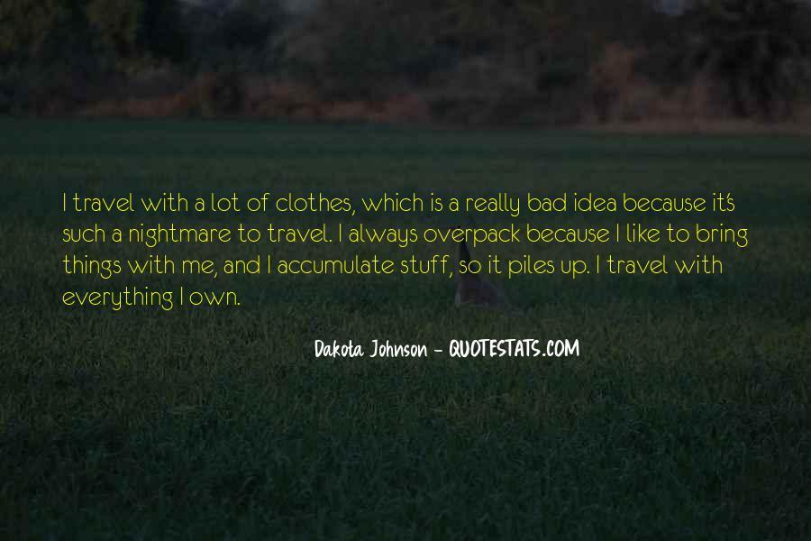 Quotes About Dakota #183144