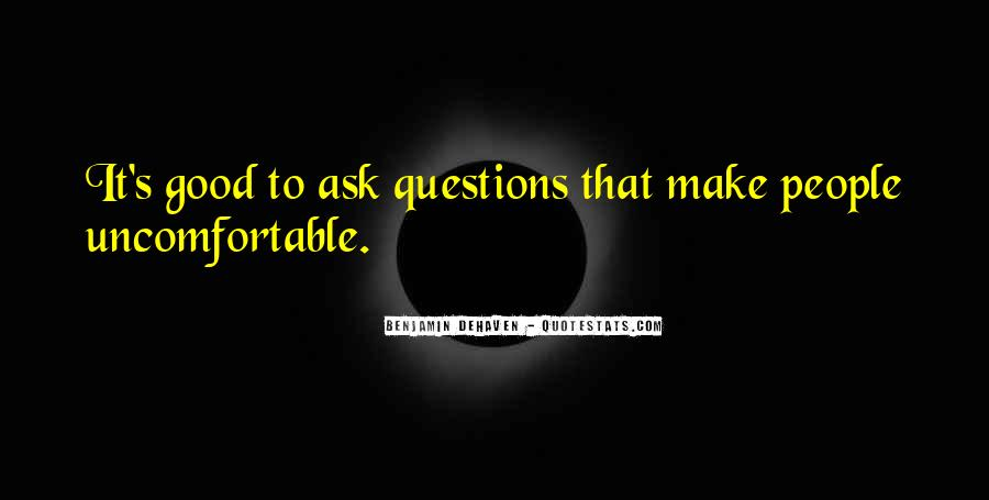 Questions To Ask To Get Good Quotes #369966