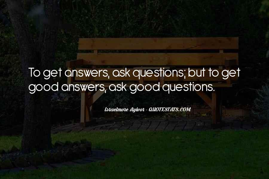 Questions To Ask To Get Good Quotes #959699