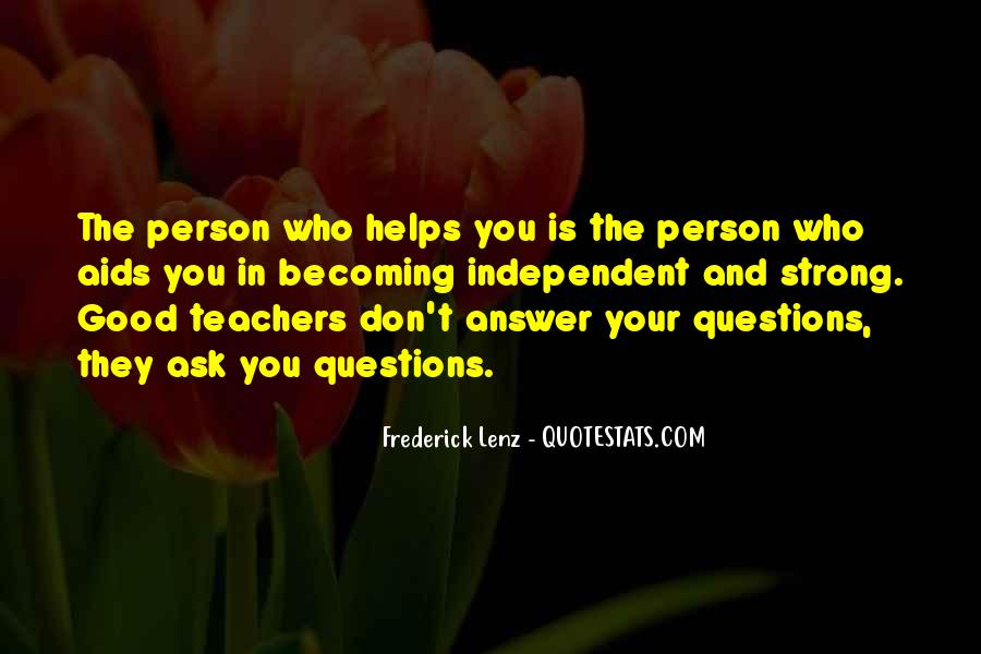 Questions To Ask To Get Good Quotes #965920