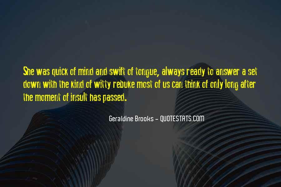Quick Tongue Quotes #72527
