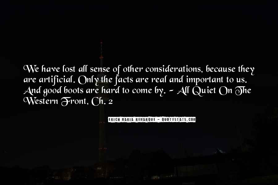 Quiet On The Western Front Quotes #1414617