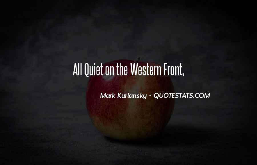 Quiet On The Western Front Quotes #1676093