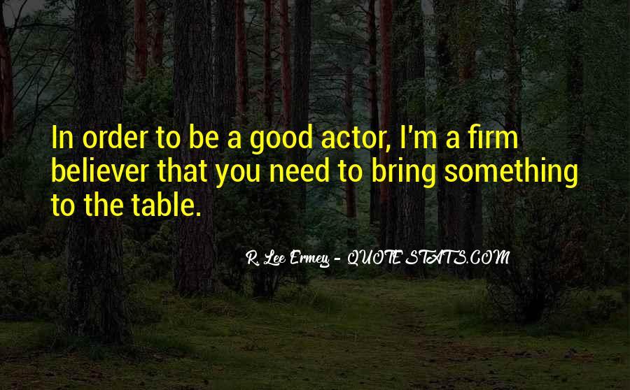 R L Ermey Quotes #543182
