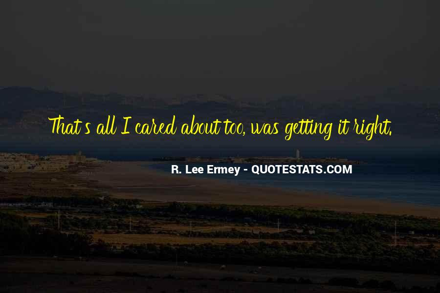 R L Ermey Quotes #615182