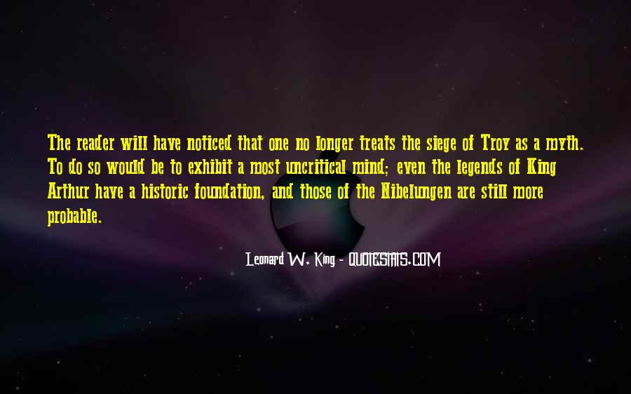 Quotes About King Arthur #1811300