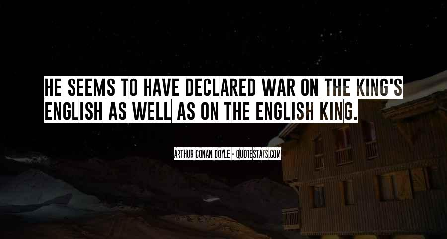 Quotes About King Arthur #1826735